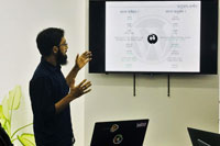 Slides of The Talk: Translating WordPress in Bengali. Image Taken by Afshana Diya